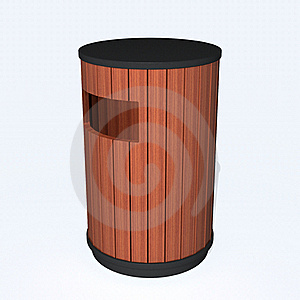 Garbage Can Royalty Free Stock Image - Image: 17055846