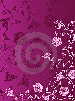 Abstract Floral Background Stock Photo - Image: 17059200