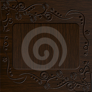 Vintage Photo Frame With Classy Patterns Stock Image - Image: 17059571