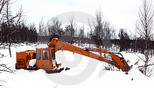 Excavator Royalty Free Stock Photography - Image: 17061047
