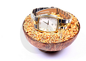 Männliche Armbanduhr Stockbilder - Bild: 17061094