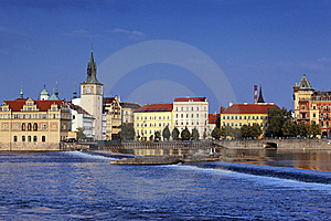 Prague City In Summer Royalty Free Stock Photos - Image: 17072538