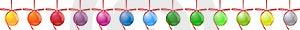 Set Christmas Ball Royalty Free Stock Photo - Image: 17074015
