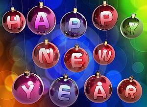 Christmas Balls Royalty Free Stock Photos - Image: 17077778