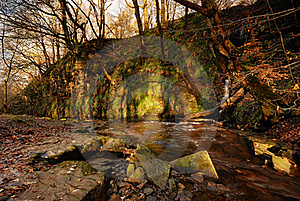 An Autumn Stream Royalty Free Stock Images - Image: 17078109