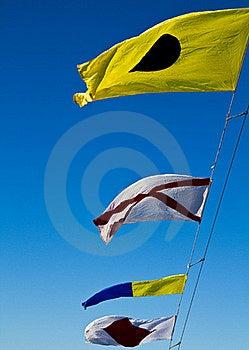 International Code Flags Stock Image - Image: 17078451