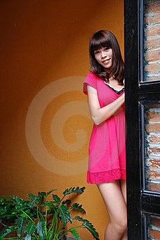 девушка способа сексуальная Стоковое Изображение RF - изображение: 17081076