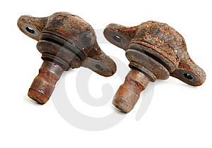 Rusty Spare Part Of The Car Stock Images - Image: 17088354