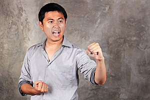 Prepare To Fight Royalty Free Stock Photo - Image: 17097335