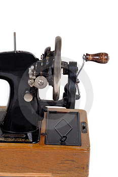 Old Sewing Machine Royalty Free Stock Photos - Image: 1710428
