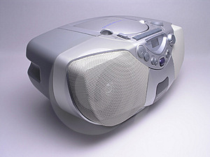 Music Boom Box - 2 Stock Image - Image: 1715471
