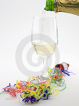 Pour Me A Glass Royalty Free Stock Photography - Image: 1716397
