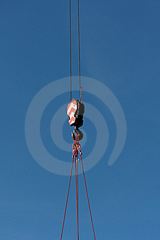 Crane Hook Stock Image - Image: 17100511