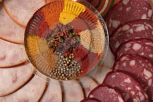 Sliced Sausage Royalty Free Stock Image - Image: 17101566