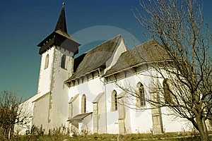 The Protestant Church Of Sintereag, Romania Royalty Free Stock Photos - Image: 17103458