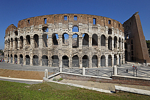 The Colosseum In Rome, Italy Stock Image - Image: 17105381