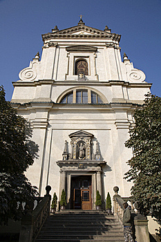 Prague - Baroque Church Of Over Lady Victorious Stock Photo - Image: 17106580