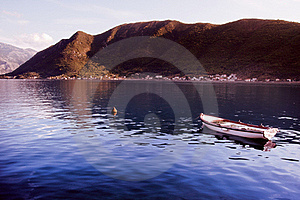 Boat In Montenegro Stock Photos - Image: 17107833