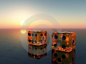 Glass Cube Stock Photo - Image: 17109080