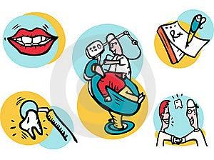Dent Illustrations Royalty Free Stock Image - Image: 17110216