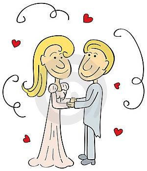 Wedding Couple Royalty Free Stock Images - Image: 17112799