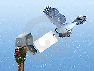 Special Holiday Delivery: Air Mail Stock Photos - Image: 17114613