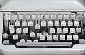 Retro Typewriter Stock Photos - Image: 17115343