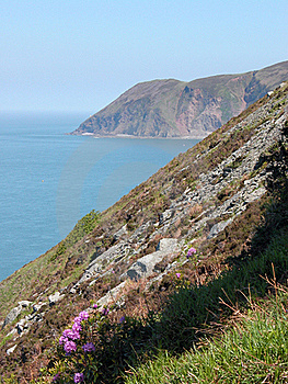 View Of Foreland Point, North Devon Stock Photography - Image: 17117562
