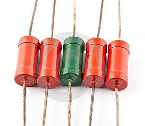 Resistor Stock Photo - Image: 17122230