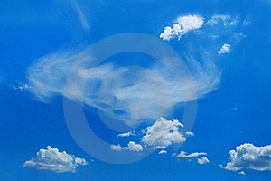 Picturesque Clouds Are In Sky Royalty Free Stock Images - Image: 17122829