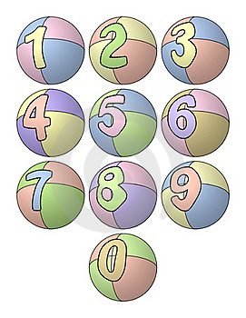 Balloon Numbers Stock Photos - Image: 17133923