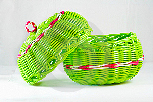 Empty Fruit Basket Stock Images - Image: 17134134