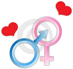 Love Male And Female Sign Royalty Free Stock Images - Image: 17140759
