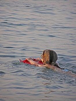 Learning To Swim Stock Photos - Image: 17140833