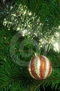 Christmas Decoration With Shiny Glare Stock Photography - Image: 17146172
