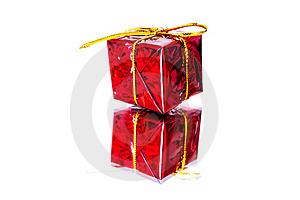 Red Gift Box Stock Photography - Image: 17150672