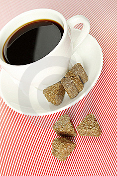 Close-up Of A Coffee Cup Stock Photo - Image: 17156830