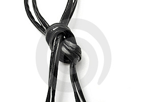 Leather Knot Stock Photo - Image: 17159200