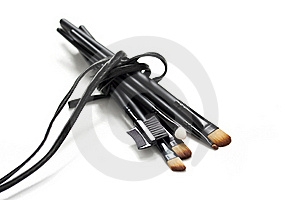 Professional Makeup Brushes Stock Photo - Image: 17159270