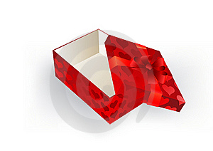 Gift Red Box With A Bow Royalty Free Stock Photos - Image: 17159488