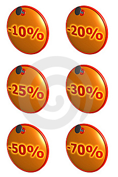 Sale Tags Stock Photography - Image: 17159772
