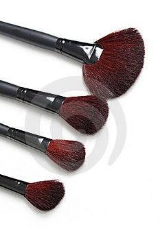 Professional Makeup Brushes Royalty Free Stock Photo - Image: 17160445