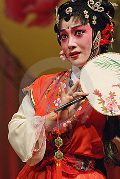 Chinese Opera Actress Royalty Free Stock Photography - Image: 17161727
