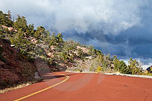 Kolob Canyons Road Stock Photography - Image: 17163732