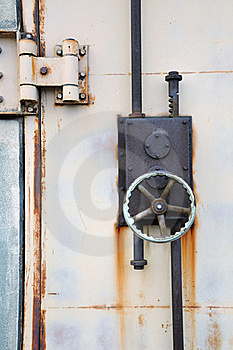 Locked Door Stock Photography - Image: 17163852