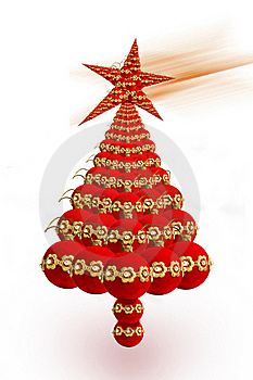 Christmas Tree Royalty Free Stock Images - Image: 17165659
