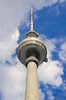 Berlin Tv Tower Landmark Stock Photos - Image: 17165713