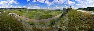 Beautiful Panorama Of Moldavian Landscape Royalty Free Stock Photos - Image: 17165818
