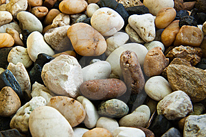 Abstract Background With Round Peeble Stones Stock Photography - Image: 17169662