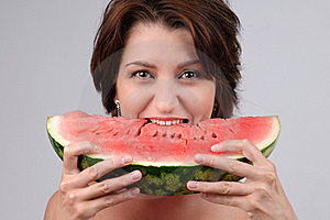 Water-melon Diet Royalty Free Stock Images - Image: 17170099